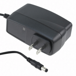 AC/DC 12V Wall Mount Adapter (24W) - US