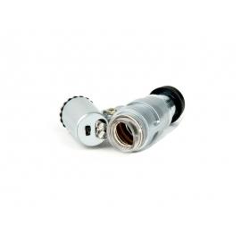 Mini Microscópio 60x (com luz LED)