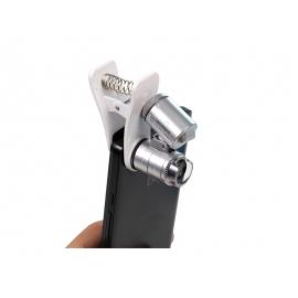 Microscópio 60X (com resorte)
