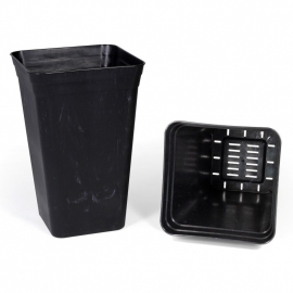Anti-stress Pot (Black) (26x26x40cm) (18 L)