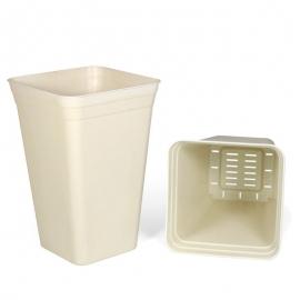 Vaso Anti-stress (Branco) (26x26x40cm) (18 L)