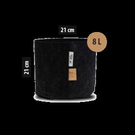 Root Pouch Maceta de Tela - 8L (21x21cm)