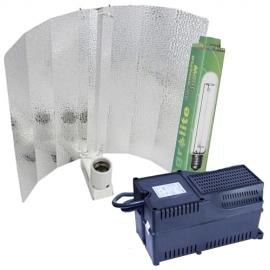 KIT GRO&FLO Agrolite HPS400W Plug&Play c/ reflector asa amartilhado