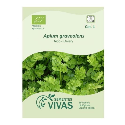 Sementes Vivas - Celery 'A Couper' 0.5G