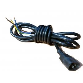 Cabo de 3M para Balastros c/ Plug IEC Macho (3x1.5mm)