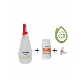 Cultivers Ecoforce KIT Insecticida Ecológico 250ml (Interior y Exterior)