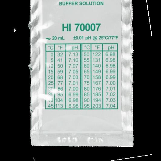 Solución de calibración en sobre Hanna pH 7.01 20ml