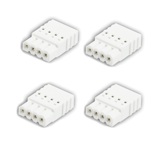 Conector 4 pines (Pack de 4)