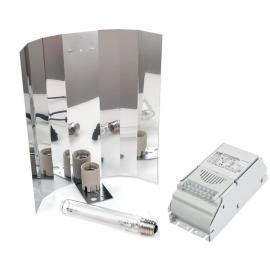 Kit EM ETI 600W SYLVANIA GroLux con Reflector SuperNova