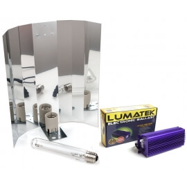 Kit EC Lumatek 1000W Dual con Reflector Enforcer Large