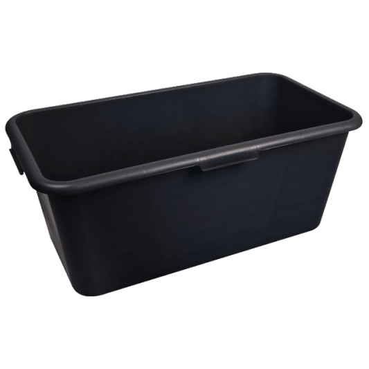 Black Rectangular Container 40L