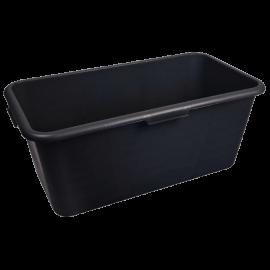 Black Rectangular Container 40L