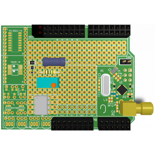 GroLab UserBot Shield for Arduino