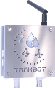 Front view of TankBot, the tank manager module of the GroLab™ grow controller