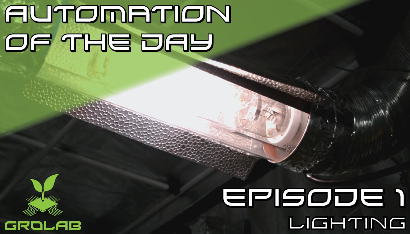 Episode 1 of the Automation of the Day series. Learn all about lights in an indoor cultivation.The post where this image belongs to explains all about color spectrum, kinds of bulbs, temperature, energy of light waves, lumen intensity and watt consumptions.GroLab, growing made easy.