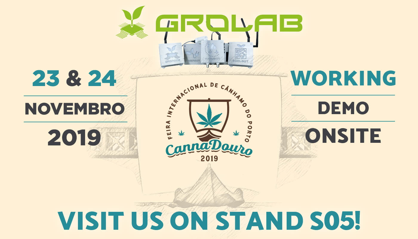 Open Grow™ will be present at CannaDouro 2019, Porto, Portugal - November 23-24