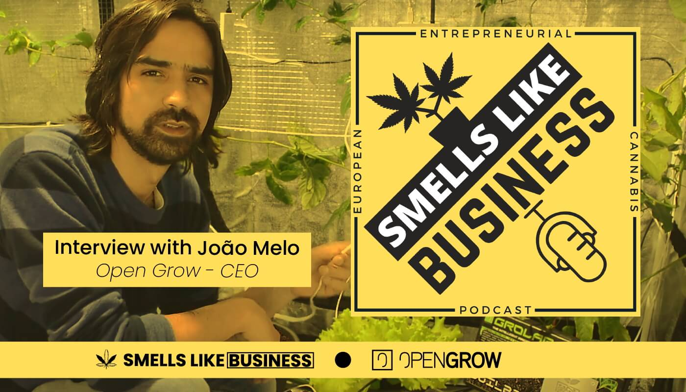 Smell Like Business interviews João Melo (Open Grow - CEO) for a podcast episode, among several topics, João Melo talks about his experience creating a startup and what benefits an automation system can offer to the urban farmers.